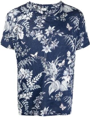 Etro floral print linen T-shirt