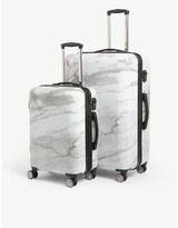 CalPak Astyll four-wheel suitcases set of two