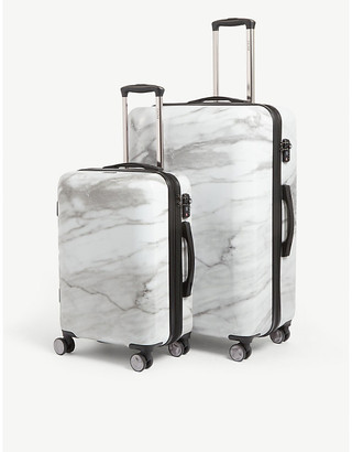 CalPak Astyll four-wheel suitcases set of two