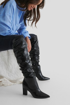 NA-KD Slouchy Shaft Knee Boots
