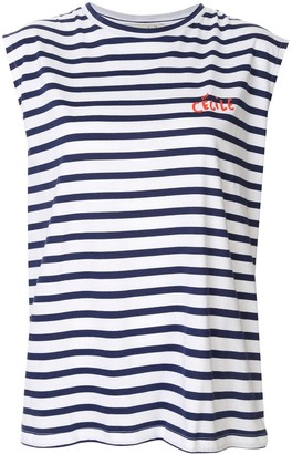 Être Cécile Striped Tank Top