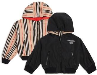 Burberry Kids Logo Zip Jacket
