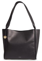 Skagen Karalie Leather Shoulder Bag - Black