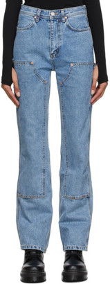 ANDERSSON BELL Blue Jade Carpenter Jeans