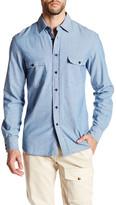 Belstaff Lowry Long Sleeve Chambray Shirt