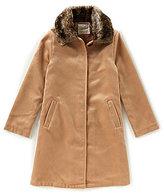 Copper Key Little Girls 2T-6X Faux-Fur Collar Jacket