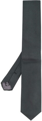 Gianfranco Ferré Pre Owned 1990s Square Textured Straight Tie