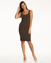 Le Château Bengaline Scoop Neck Shift Dress