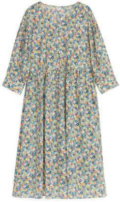 Arket Wide-Fit Voile Dress