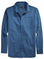 Tavik Mens Porter LS Button Up Shirt nightshadeblue