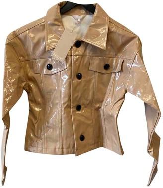 Aeryne Beige Jacket for Women