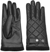 Women's Igloos Quilted Leather Gloves