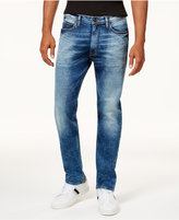 Sean John Men's Athlete Relaxed Tapered-Fit Stretch Jeans