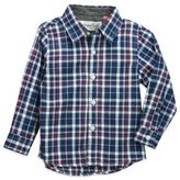 Sovereign Code Sovereign CodeTM Plaid Shirt in Navy