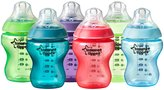 Tommee Tippee Closer to Nature Fiesta Bottles - Multicolor - 9 oz - 6 ct