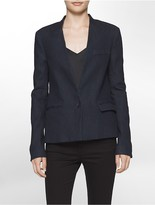 Calvin Klein Dark Wash Denim Blazer