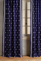 Anthropologie Hallina Diamonds Curtain