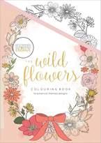 "Kaisercraft KaiserColour Coloring Book 8""X5.5""-The Wild Flowers, 14 Designs"