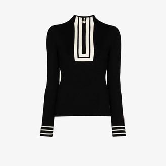Perfect Moment Attu zip-up merino wool sweater