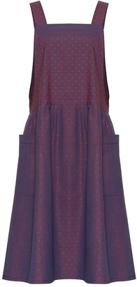 Bo Carter Candy Dress Purple Dots
