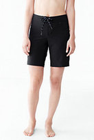 Classic Women's Petite AquaSport 9 inch Board Short-Deep Sea