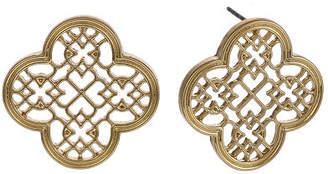 Bijoux Bar 1 Inch Stud Earrings