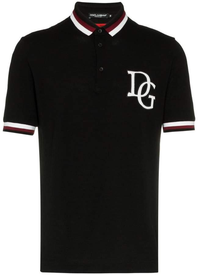 Dolce & Gabbana classic logo polo shirt