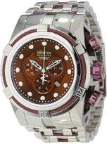 Invicta Men's 12747 Bolt Reserve Chronograph Brown Dial Stainless Steel Watch