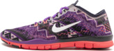 Nike Womens Free 5.0 TR FIT 4 PRT Shoes - Size 9W