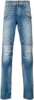Hudson denim straight biker jeans - men - Cotton/Spandex/Elastane - 29