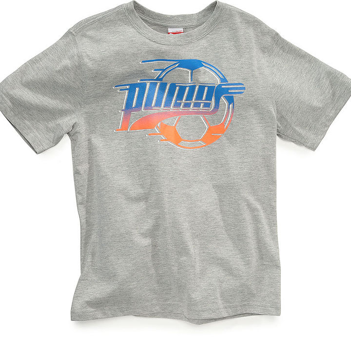 Puma Kids T-Shirt, Little Boys Soccer Tee