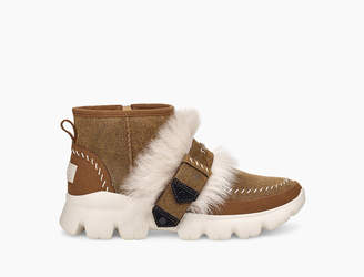 Fluff Punk Ankle Boot