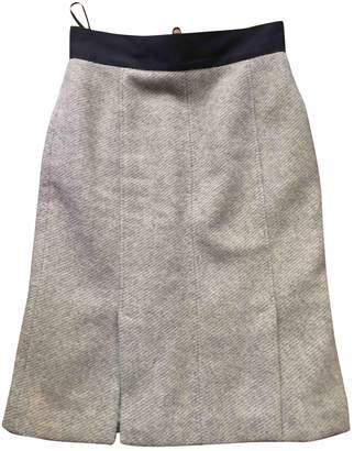 Albino \N Grey Wool Skirt for Women