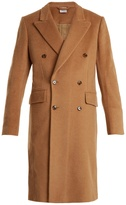 Vetements Double-breasted camel-hair coat