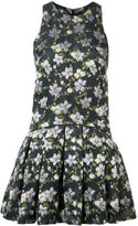 Alexander McQueen printed mini dress - women - Silk/Polyester/Acetate/Polyimide - 42