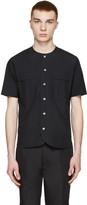08sircus Black Vintage Typewriter Shirt