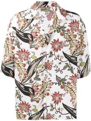 Prada graphic print shirt