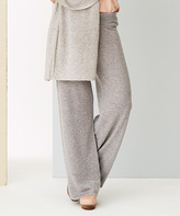 Heather Mid Gray Cashmere Lounge Pants
