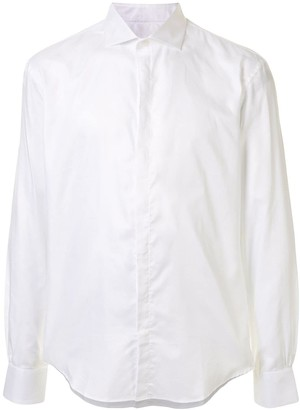 Bourrienne Poplin Spread Collar Shirt