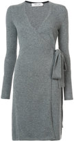 Diane von Furstenberg plunge wrap dress