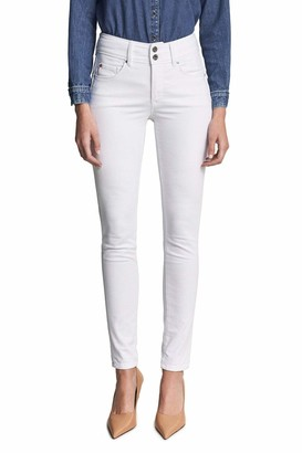 Salsa Secret Push in Slim Jeans White