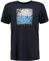 Element Flow Print Tshirt Eclipse Navy