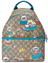 Gucci Children's GG felines backpack