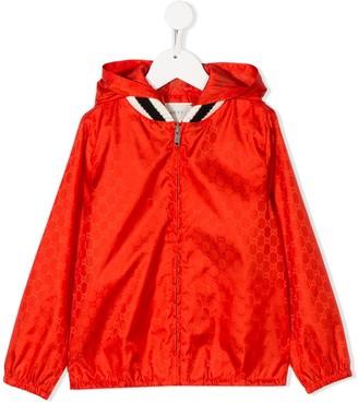 Gucci Kids GG zipped jacket