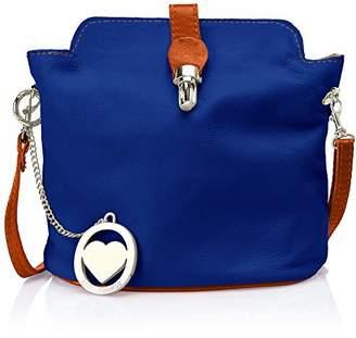 CHICCA Borse Cbc3322tar, Women's Shoulder Bag,10x20x21 cm (W x H L)