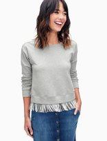 Splendid Fringe Sweatshirt
