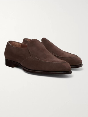 Edward Green Lewes Suede Loafers