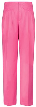 Rotate by Birger Christensen Janis high-rise straight pants