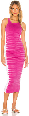 Michael Stars Flame Wash Midi Dress