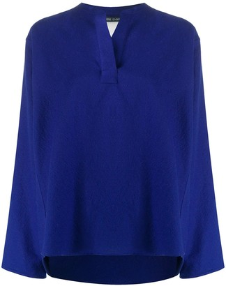 Sofie D'hoore Long Sleeve Textured Blouse